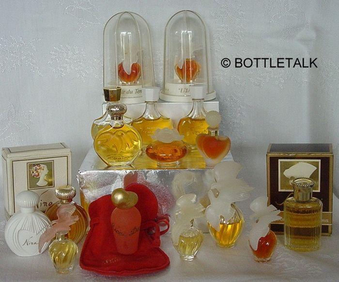 Meer dan 200 parfum miniaturen van beroemde parfum huizen als Guerlain Givenchy Christian Dior Kenzo enz.  Alle miniaturen zijn uit mijn collectie originele gevuld en in goede conditie. Een paar flessen hebben verdamping. Er zijn geen dubbelspel in deze collectie. Sommige miniaturen en vakken hebben verschillende schrijven.De inhoud van de collectie van 206 één miniaturen  2 ingesteld (Kenzo) en zijn uit de volgende parfum huizen:Laura Biagiotti (7) - Cacharel (22) - Chopard (6) - Salvador…