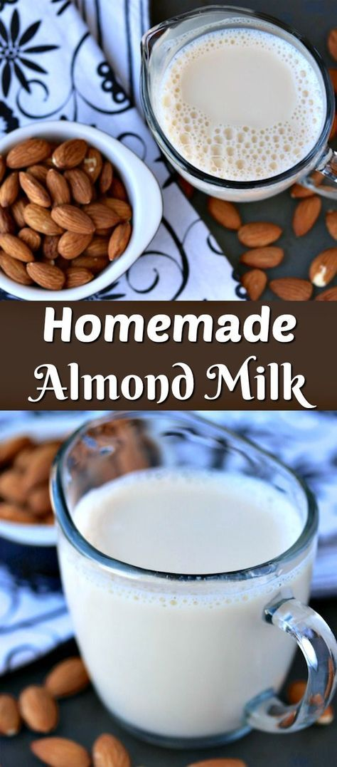 Here is a recipe for homemade almond milk with no added preservatives. This recipe is easy and budget-friendly. Use it for all of your dairy-free needs.