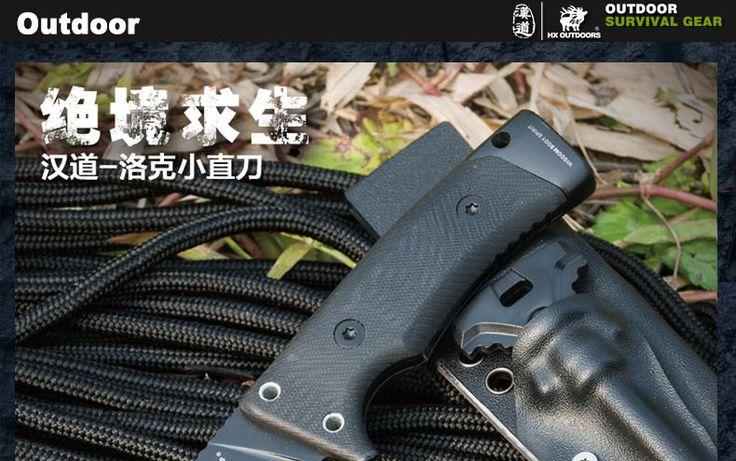 Нож D2 открытый кемпинг охоты тактический нож флинстоуны G10 ручка карманные ножи выживания утилита EDC karambit нож купить на AliExpress