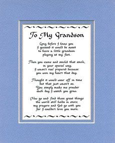 Grandson Quotes on Pinterest | Grandchildren, Granddaughters and ...