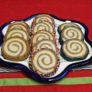 Shortbread Pinwheels