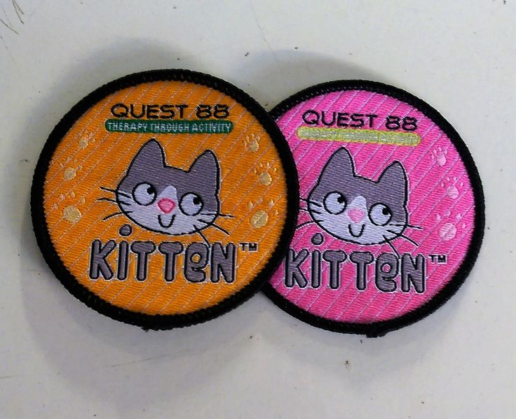 Some cute little kitten badges