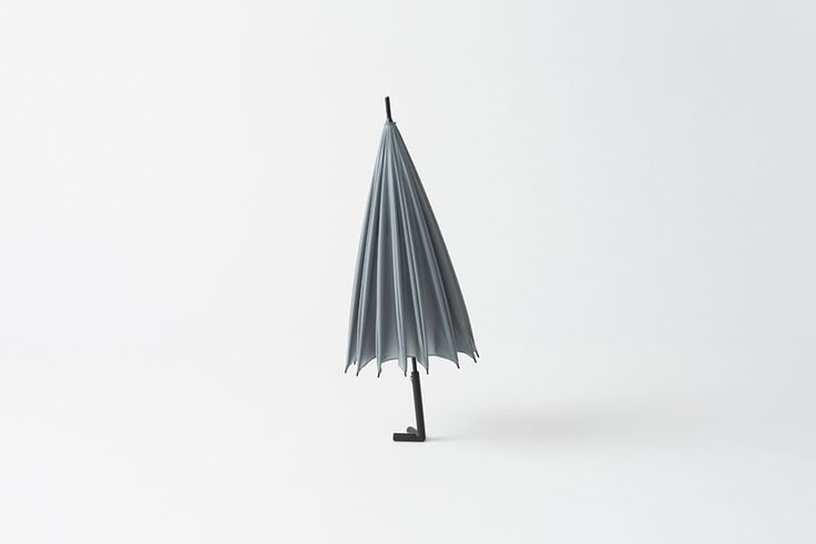 Designer Umbrella Can Stand, Hang, or Lean Anywhere