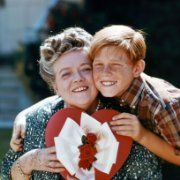 Still of Ron Howard and Frances Bavier in The Andy Griffith Show (1960)