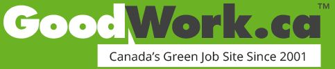 GoodWork is Canada's environmental job site, connecting environmentally friendly job seekers, organizations and companies since 2001