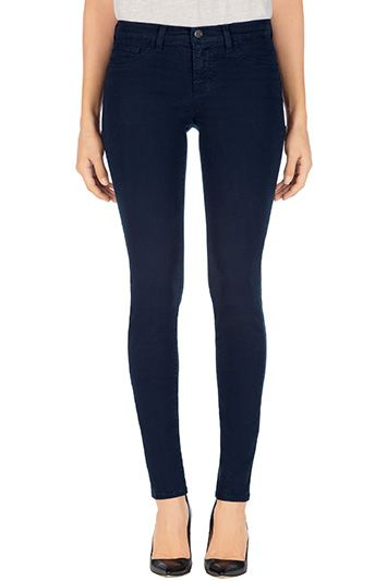 J Brand, 811 Mid-Rise Skinny Leg, navy, Womens : Skinny Leg, 811K120.  Want to try these on.