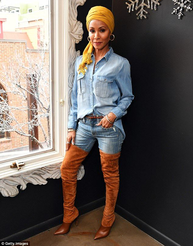 In the limelight:Jada Pinkett Smith attended the Feature Film Jury Orientation Breakfast at Cafe Terigo in Park City, Utah, on Friday