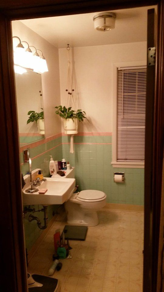 before after colleens modern vintage bathroom the big reveal room makeover contest 2015