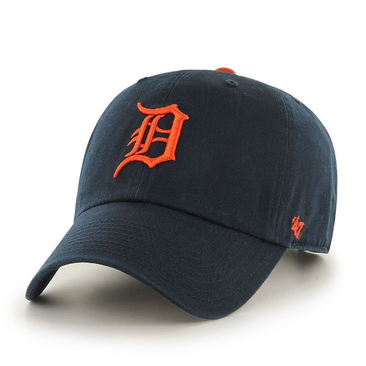 Adult '47 Brand Detroit Tigers Clean Up Adjustable Cap, Multicolor