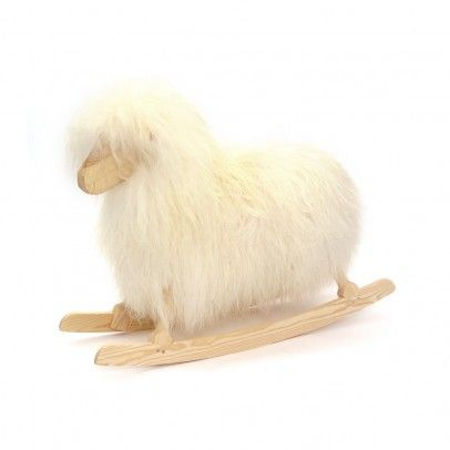 Rocking Sheep by Danish Crafts #Rocking_Sheep