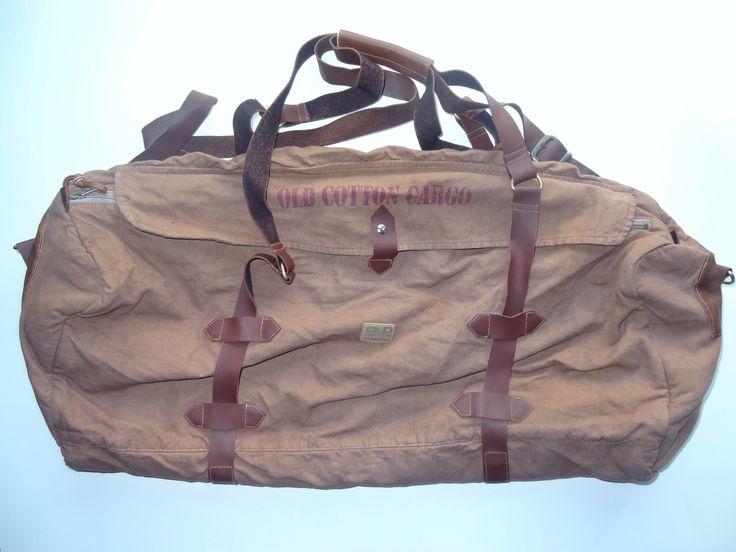 Old Cotton Cargo Bag - BAG#28 (69,- €)