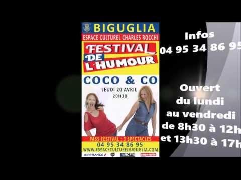 Festival de l'humour du 19 au 21 avril 2017 à Biguglia