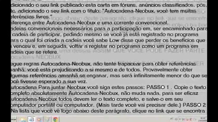 a estrategia do sucesso neobux ,clixsence referidos gratis