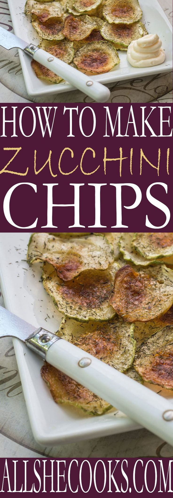 Looking for a healthy snack? Zucchini chips recipe is a healthy and delicious. Add some sea salt or Parmesan cheese for flavor and you've got a winning sncak recipe.