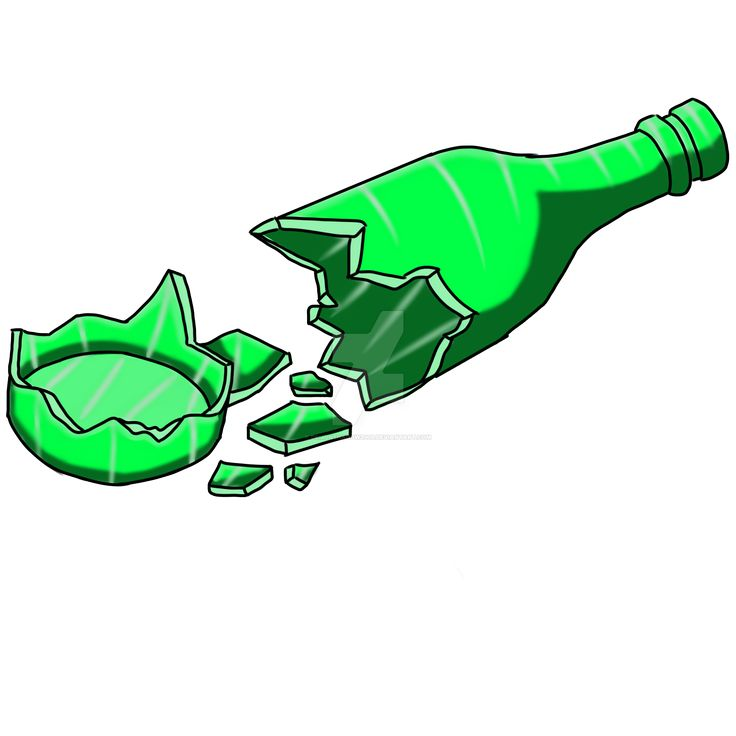 Resultado de imagen de botellas rotas diseño