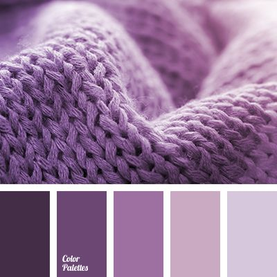 Marvelous, fresh, bright palette. Soft and delicate shades in combination with rich, expressive colors. Smooth transition from dark violet to soft lilac is