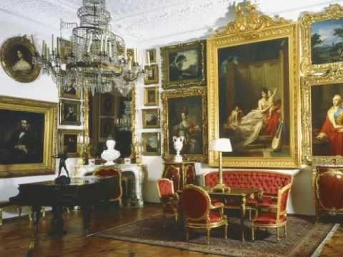 wnętrze pałacu w Kozłowce