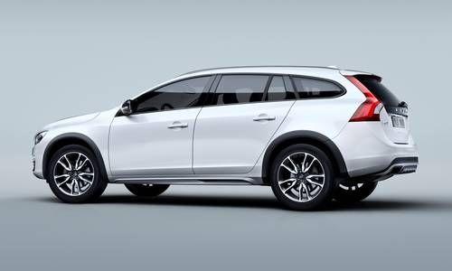 #Volvo #CrossCountry. Il crossover dai lineamenti marcati con assetto rialzato, consente di affrontare ogni tipo di strada grazie anche alla trazione integrale.