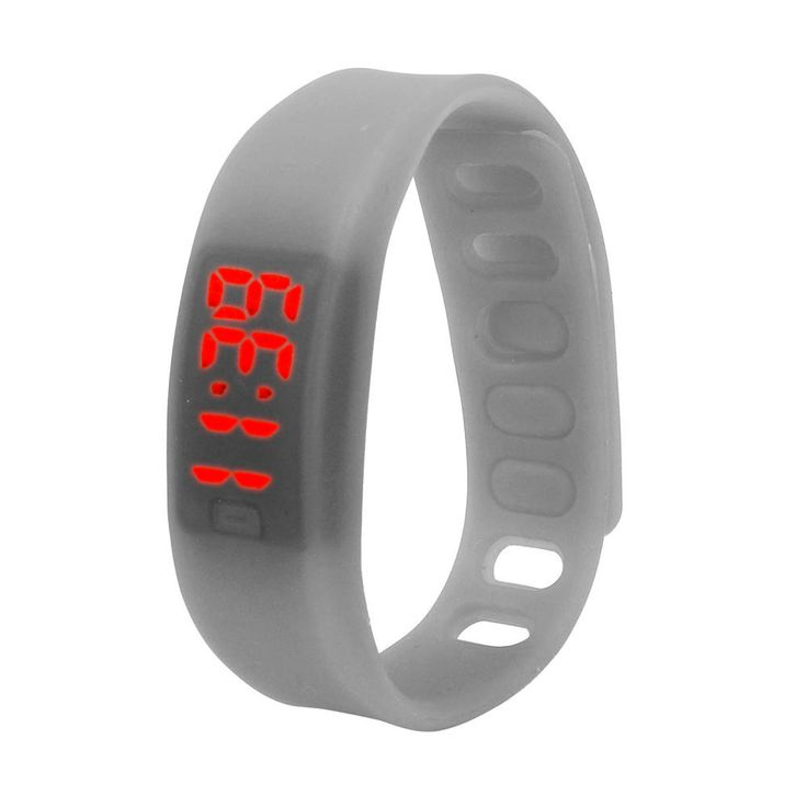 Creative Fashion 1PC Womens Mens Rubber LED Watch Date Sports Bracelet Digital Wrist Watch,Luxury,Casual,Crystals,classic,simple