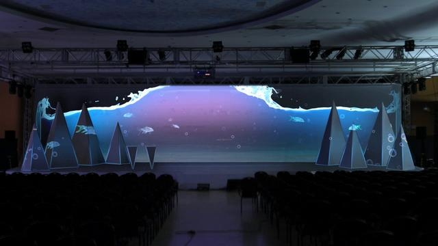 LOOMO / 3D VIDEO MAPPING - PZU SHOW 2011. Video by Loomo.pl.