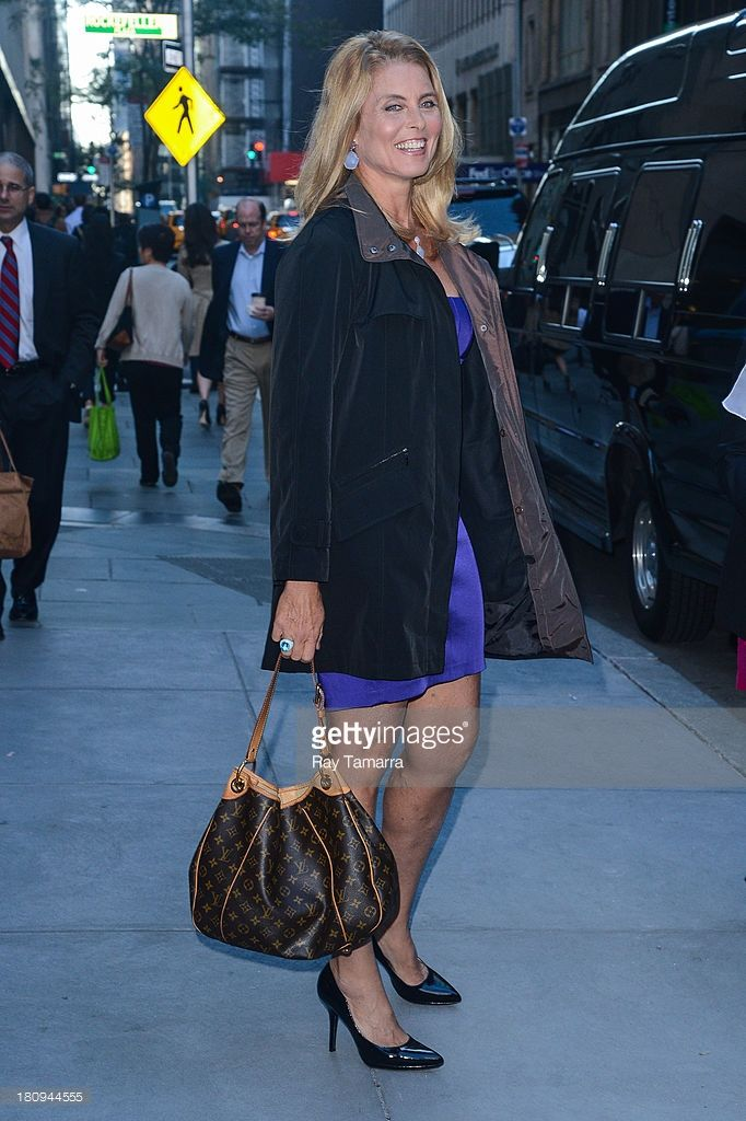 Model Kim Alexis leaves the 'Today Show' taping at the NBC Rockefeller Center Studios on September 18, 2013 in New York City.