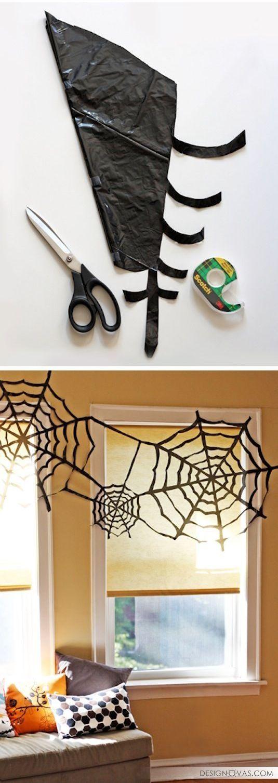 Украшаем дом на Хэллоуин своими руками - 24 бюджетные идеи |  #праздник #хэллоуин Не пропустите