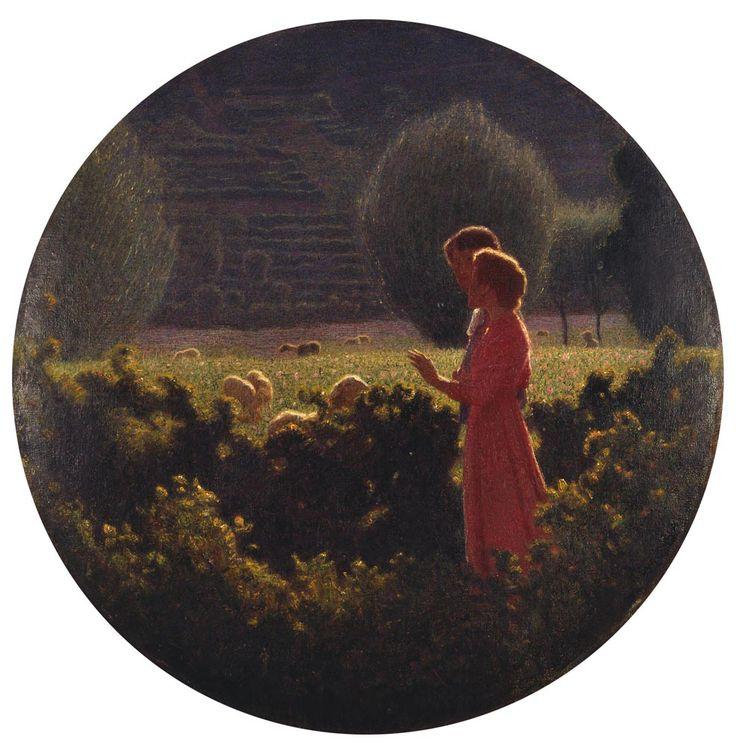 Giuseppe Pellizza da Volpedo (1868-1907). Italian painter.
