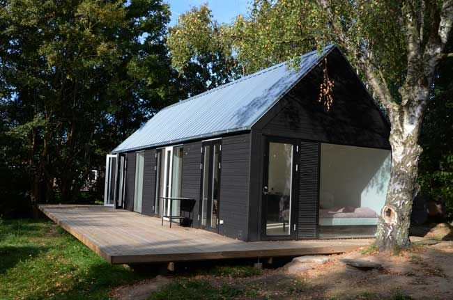 """Mini Houses"" - I'm a huge fan of Architect Mette Lange's work."