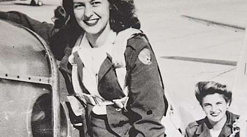 WWll Woman Pilot