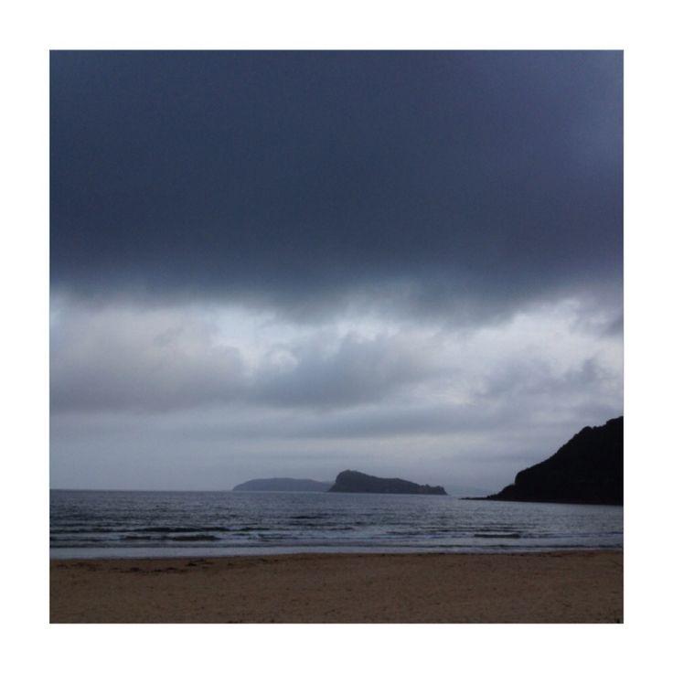 Clouds // umina beach, ocean beach, central coast.