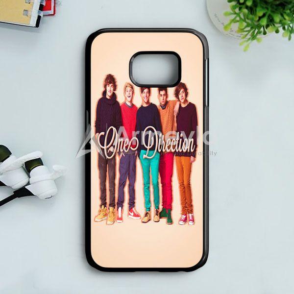1D One Direction Logo Pink Flower Samsung Galaxy S7 Case | armeyla.com