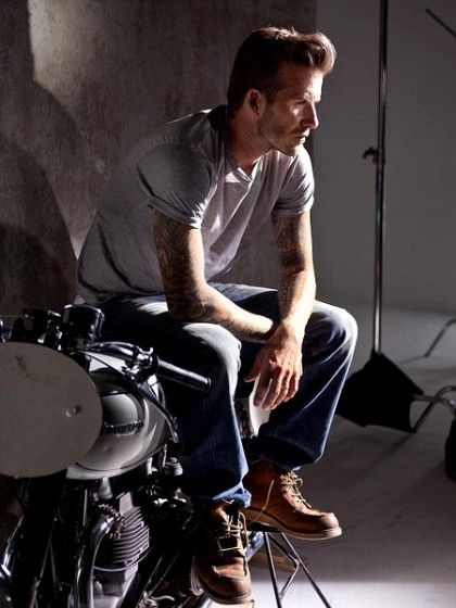 Behind the Scenes of David Beckham's New Fragrance Shoot