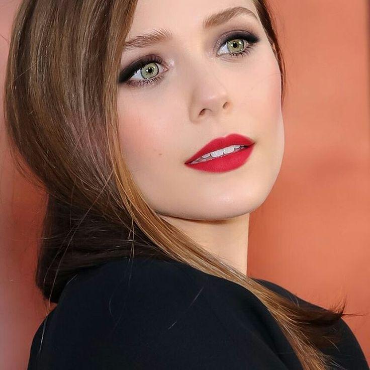 Elizabeth Olsen  Good grief! Look at the eyes God gave HER!