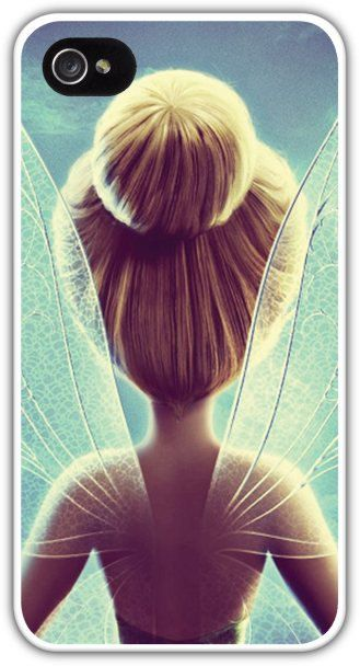 Tinkerbell Cell Phone Case Cover iPhone 4 4S 5 5S Samsung Galaxy S3 S4 Disney Peter Pan Tink Fairy Wings Pixie Dust Bun $24.99+FREE SHIPPING