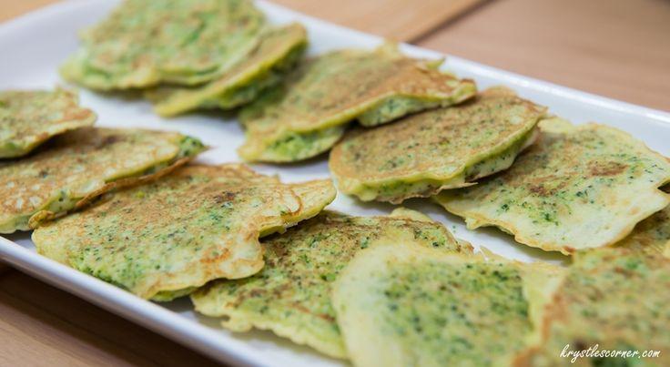 Broccoli pancakes Blog — Krystle's Corner