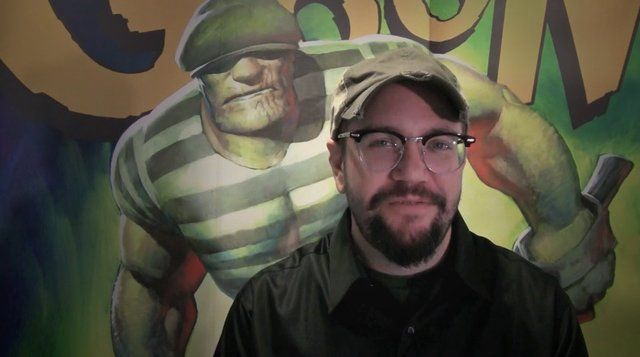 "A Message From Eric Powell, Creator of ""The Goon""!!!. Blur's got a Kickstarter for our Goon Film project! Please come visit!  kickstarter.co..."
