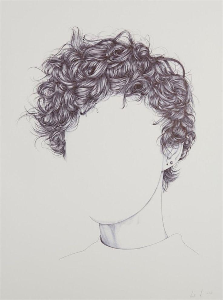 Henrietta Harris zeichnet Köpfe ohne Gesichter