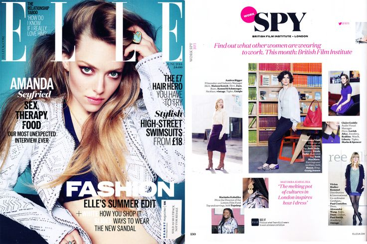 Maison Scotch featured in Elle UK | May 2014