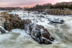 Winter Mist at Great Falls - Dennis Govoni/Getty Images
