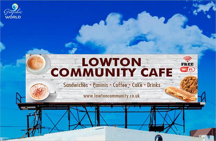 Cafeteria Billboard Designs http://graphicworld.co/