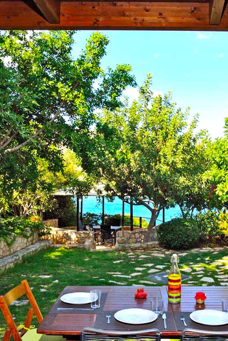Villas Above Sea in Loutraki, Chania #crete #TheHotel.gr #villa  #voyage #inspiration