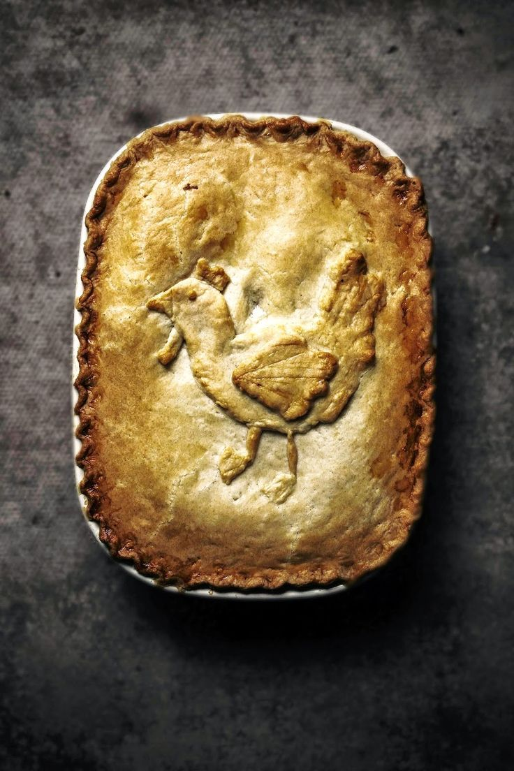 chicken and bacon pot pie In true Kokkedoor spirit. Lovely execution