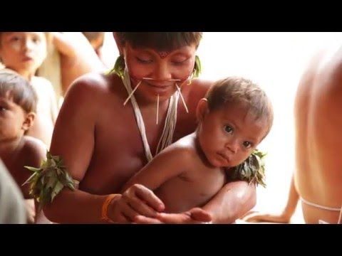 O Povo Yanomami está contaminado por mercúrio de garimpo
