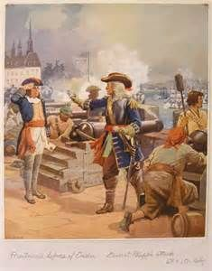 Count Frontenac directs the defense of Quebec against the English siege of 1690.