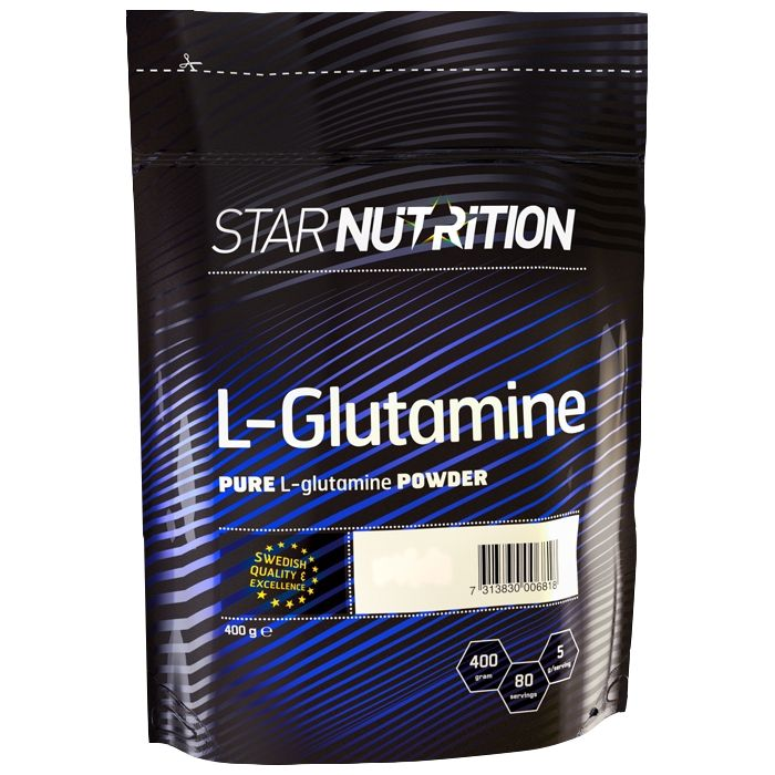 Kjøp L-Glutamine, 400 g hos Gymgrossisten