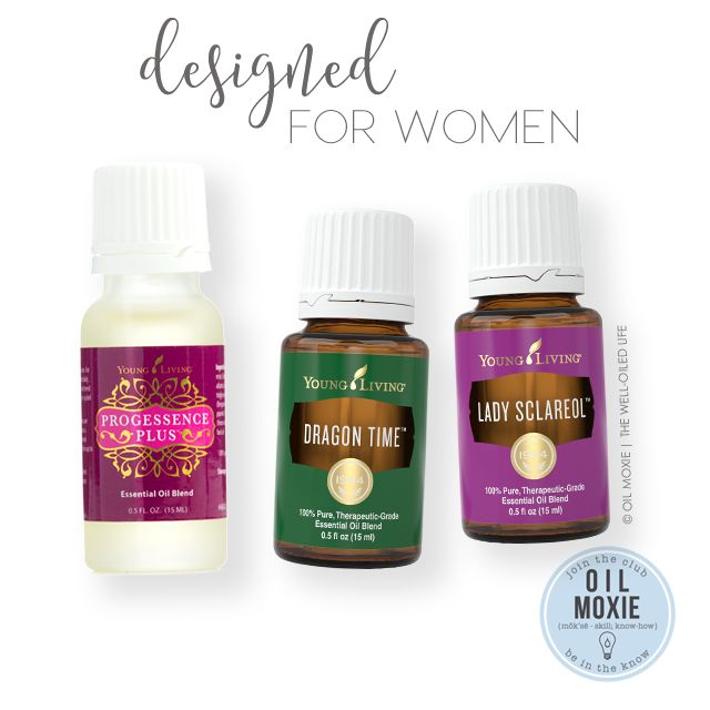 Designed for Women   Essential Oil Uses - Young Living's Progessence Plus, Dragon Time, and Lady Sclareol are all essential oils blends that have been designed specifically for women and their unique needs!  Progessence Plus is a serum that contains wild yam extract, vitamin E, Frankincense, Bergamot, Rosewood, and more.  Dragon Time can help with positive emotions during the monthly cycle.  Lady Sclareol was also created specifically to enhance femininity and can help you relax when…