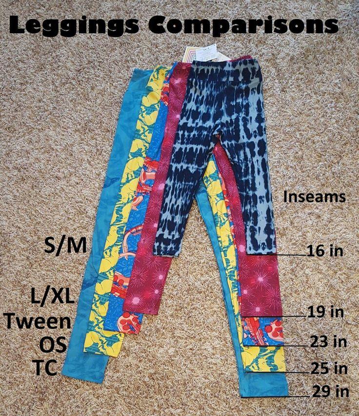 lularoe leggings TC OS Tween s/m L/xl