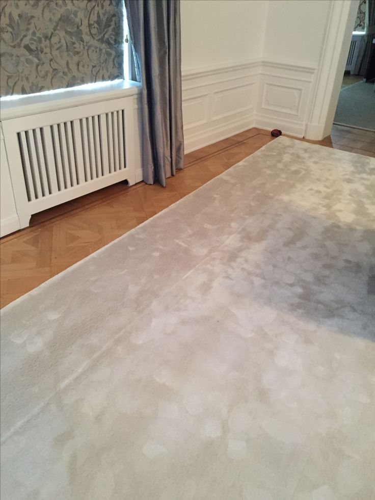 Specialbeställd matta, måttanpassade elementskydd