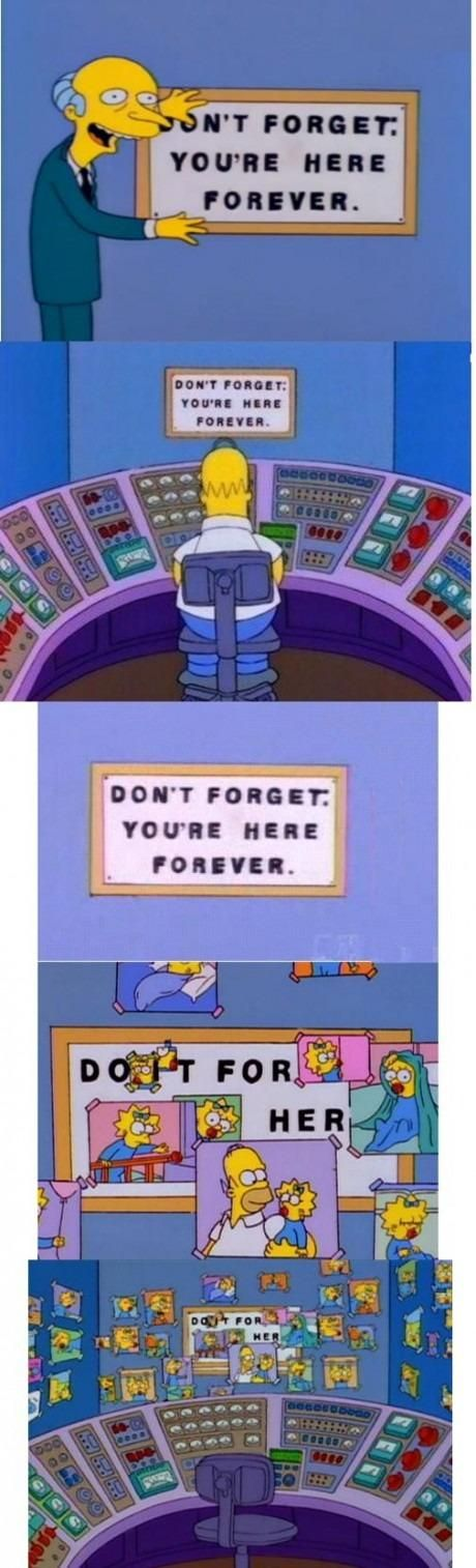 A touching Simpsons moment...aww :)