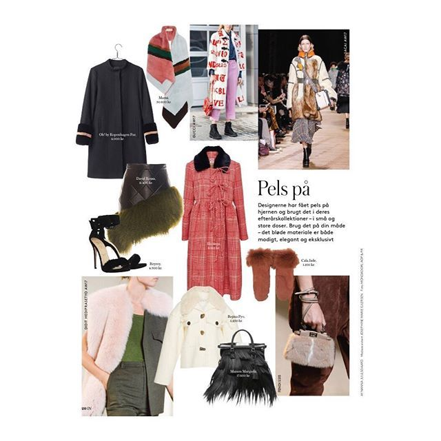 The Sandal Collection NO. 2 in this months @modemagasinet_in ❤️ #fur has not always been a popular choice of material in terms of animal welfare - BUT it is possible to use fur by suppliers that offer traceability of the fur to verify the history, background and location. #sustainablefarming
